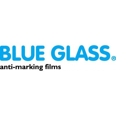"Blue Glass Press Sheets MITSUBISHI 28"" SMALL ADHESIVE"